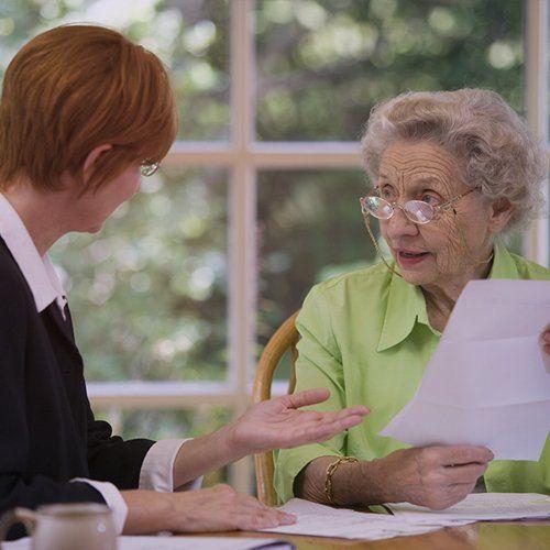 File paperwork