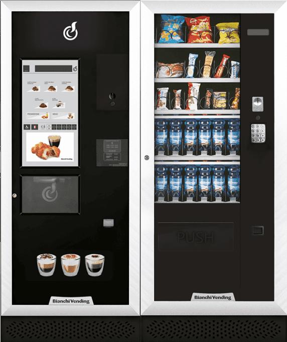 distributore automatico LEI500 TOUCH + ARIA M MASTER