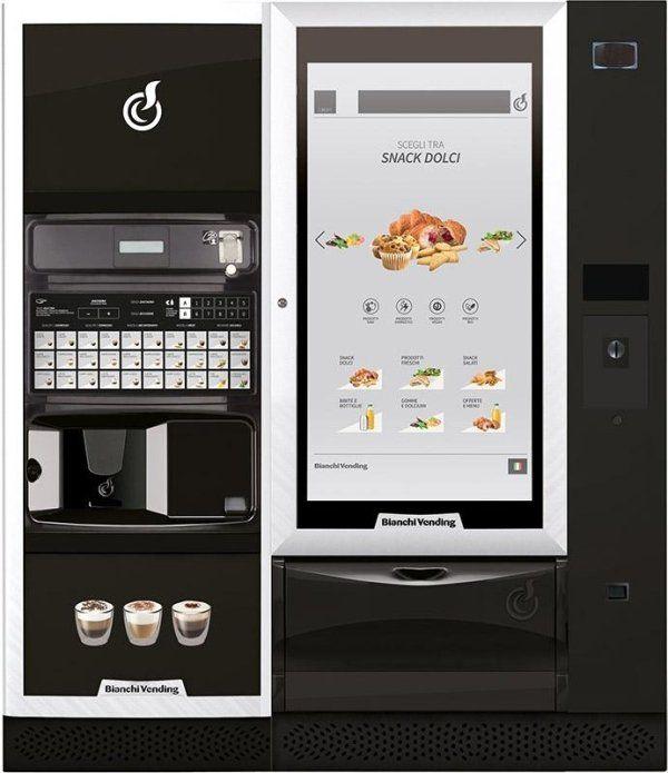 distributore automatico LEI700 PLUS + VISTA L MASTER TOUCH 46