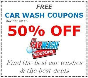 example of a free car wash coupon