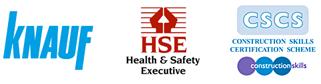 Knauf, HSE, CSCS company logo