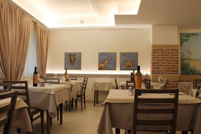 vista interna di ristorante