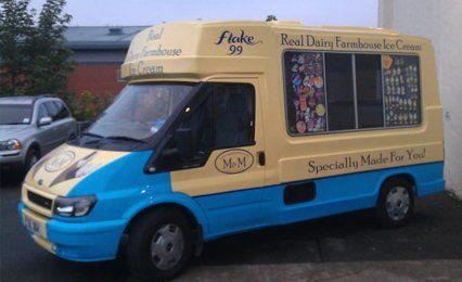 real dairy ice cream van