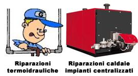 Riparazione di caldaie e impianti termici