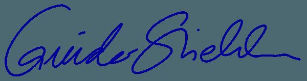 Zahnarzt Ehingen, Guido Stiehle, Unterschrift