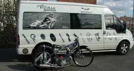 Signage for vans
