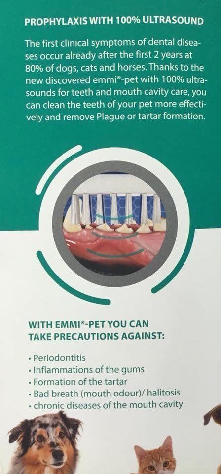 Emmi-Pet from Ultrasonic Doggy Dentals by Diamonddax