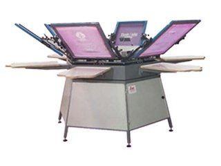 Multi-operator screen printers