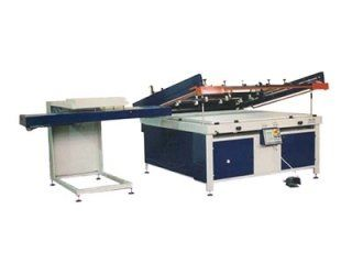 Automatic unloading of printed elements