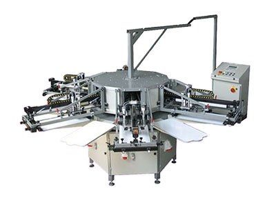 Screen printing support equipment