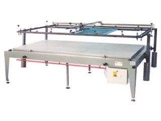 Printing machines with pantograph action