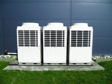 Impianto di climatizzazione ad Affi