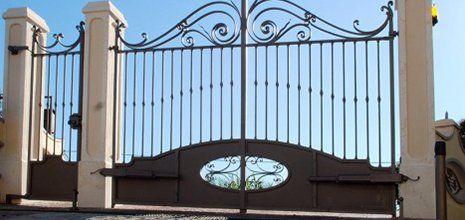 Porta di ingresso alla proprietà