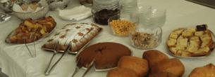 colazione al buffet