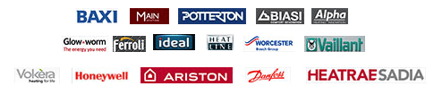 BAXI Vaillant ARISTON Honeywell logos