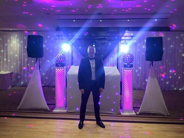 Lighting in a corporate party