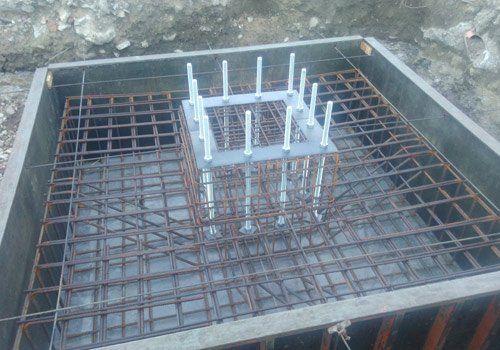 preparazione cemento armato