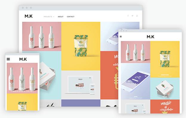 new template creative portfolio