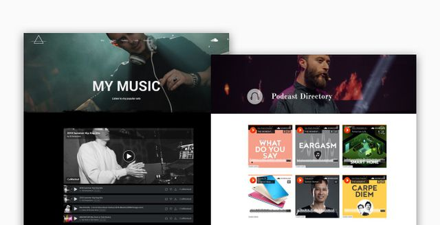 Let the Music Play! With your New Audio Widget