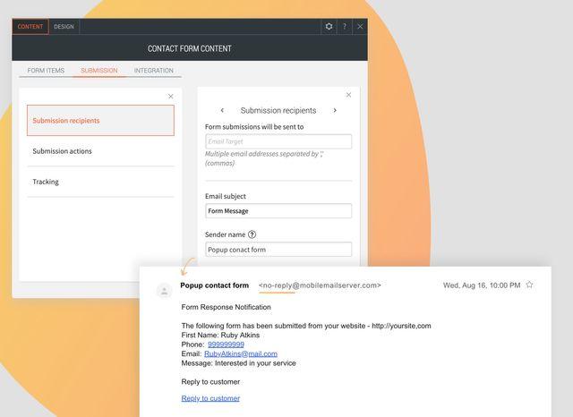 Customize Contact Form Sender Name