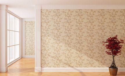 Beautiful wallpapering