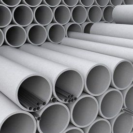 Close up of a range of pipes