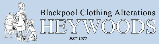 Heywood's Clothing Alterations logo