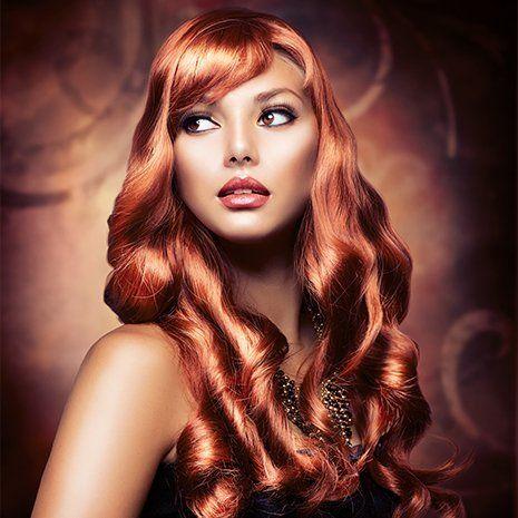 Hair colouring salon