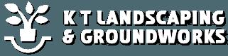 K T Landscaping & Groundworks logo