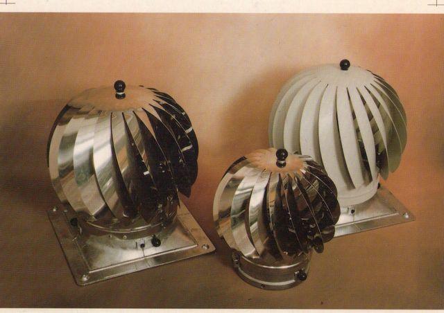 aspiratori zincato e in acciaio