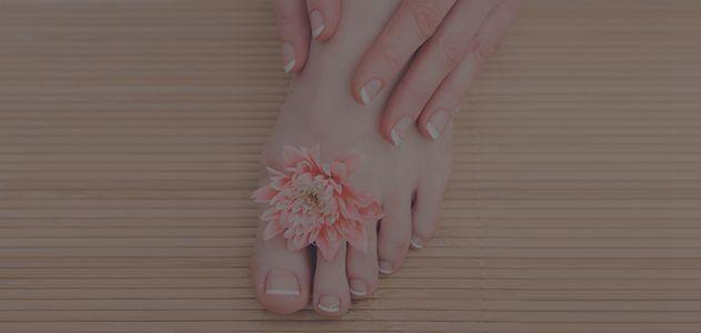 French nail treatment at spa center — Salon, Spa in Triadelphia, WV
