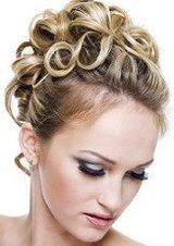 Special occasion hair style
