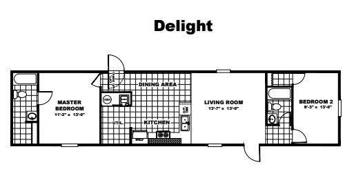 Tru Homes Delight Floor Plan