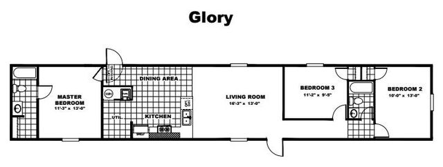 Tru Homes Glory Floor Plan