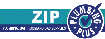 zip plumbing bathroom gas supplies logo
