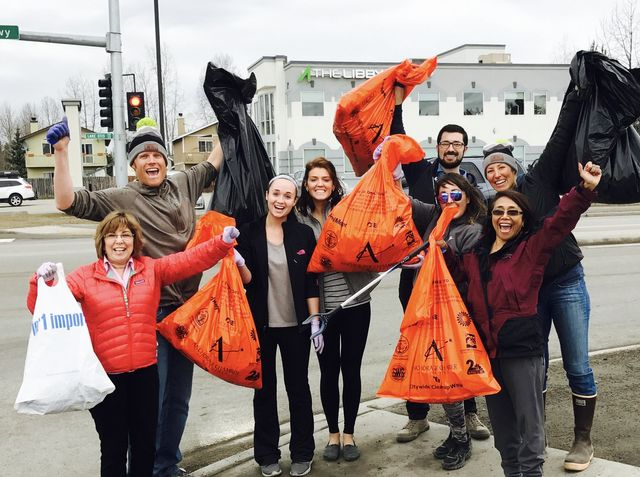 The Libby Group clean up in Anchorage