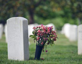 grave stones