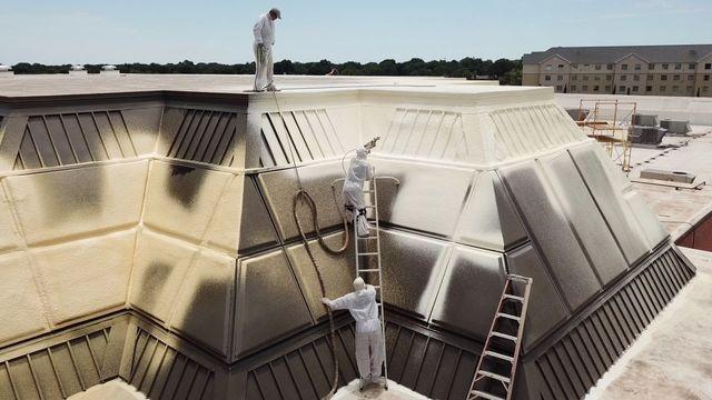 Foam Roofing Burkburnett Tx Bradley Foam Roofing