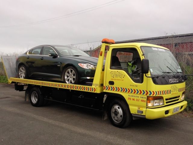 Roadside assistance and towing services available in Palmerston North