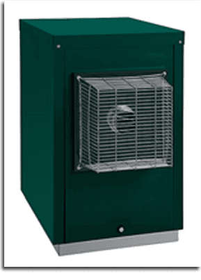 Green oil boiler