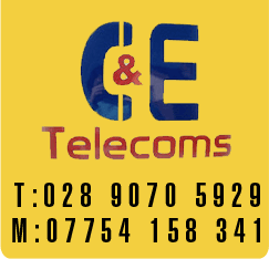 C and E Telecoms logo