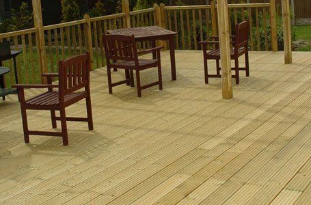top-quality decking