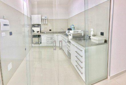 Sala di disinfezione e sterilizzazione