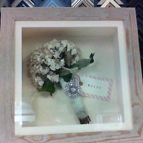 bouquet framed
