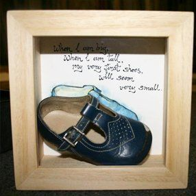 shoe framed