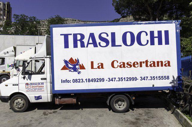 camion per traslochi la casertana