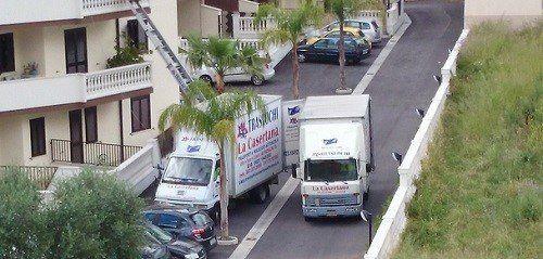 camion con autoscale