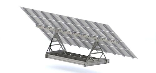 ballasted solar tracker