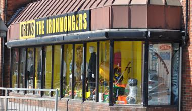 DREWS THE IRONMONGERS store