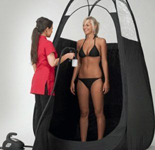 qualified spray tan technician